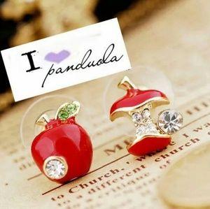 Jewelry - Apple earrings